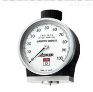 asker ISO-D型 软橡胶硬度计 海绵硬度计