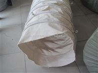 升降用伸缩帆布袋 白色无纺布伸缩帆布过料袋