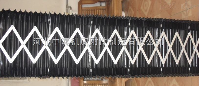 龙门横梁导轨风琴防护罩