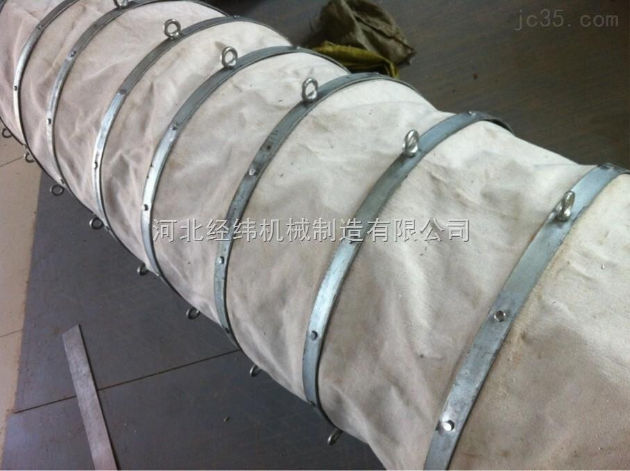 帆布输送水泥伸缩布袋