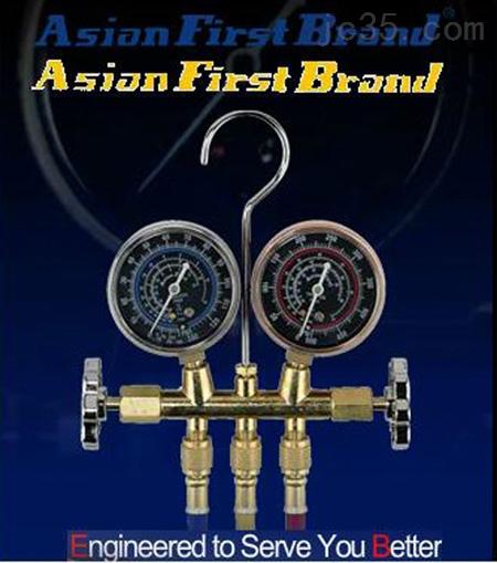 台湾Asian First Brand冠亚双表汽车冷气测试双表组