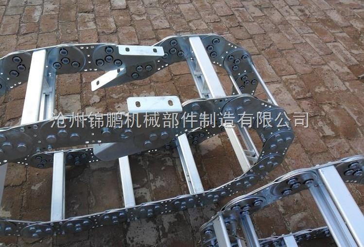机床钢铝穿线拖链