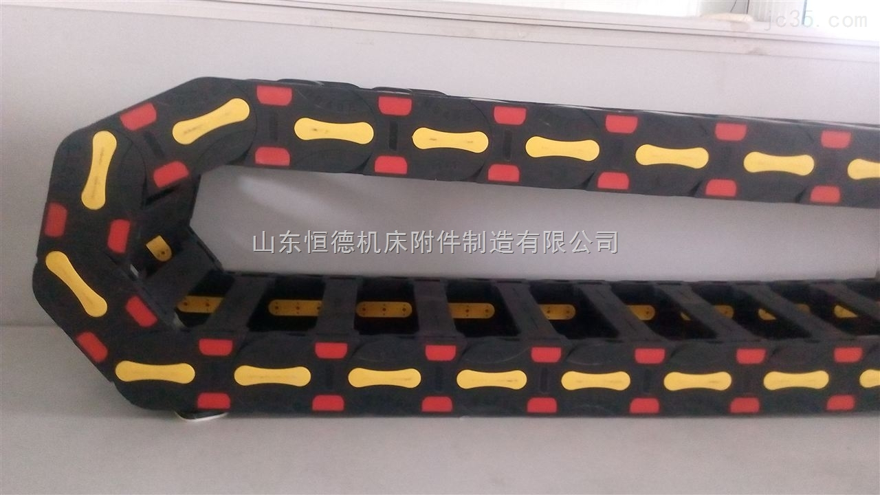 机床穿线塑料拖链