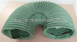 北京耐高温油缸防护罩  钢丝骨架支撑防护套 液压伸缩杆防尘罩