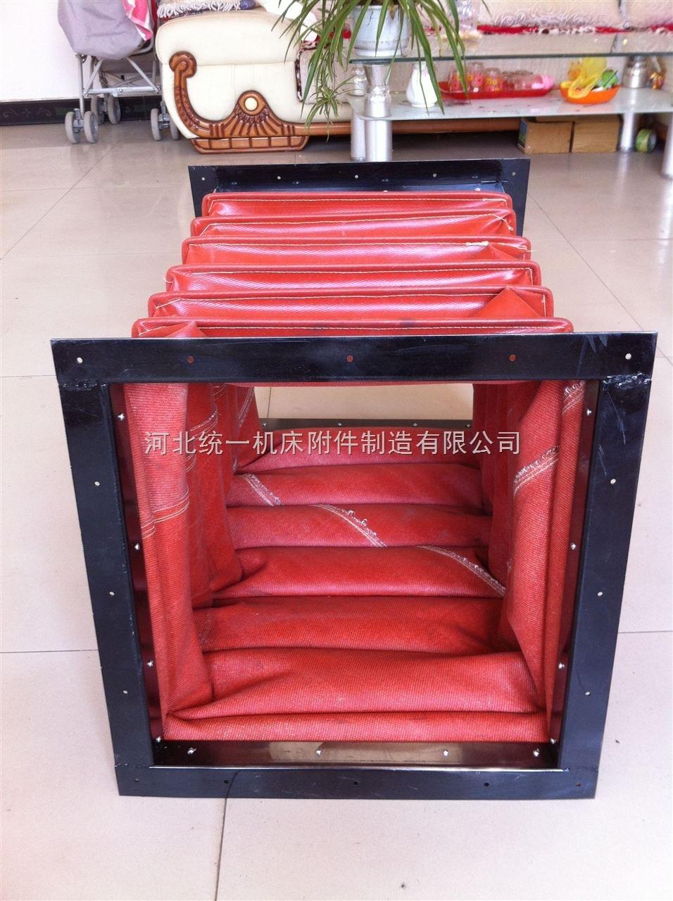 统一制作阻燃硅胶布除尘软连接价格/图