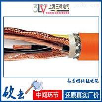 耐油耐酸碱柔性拖链电缆