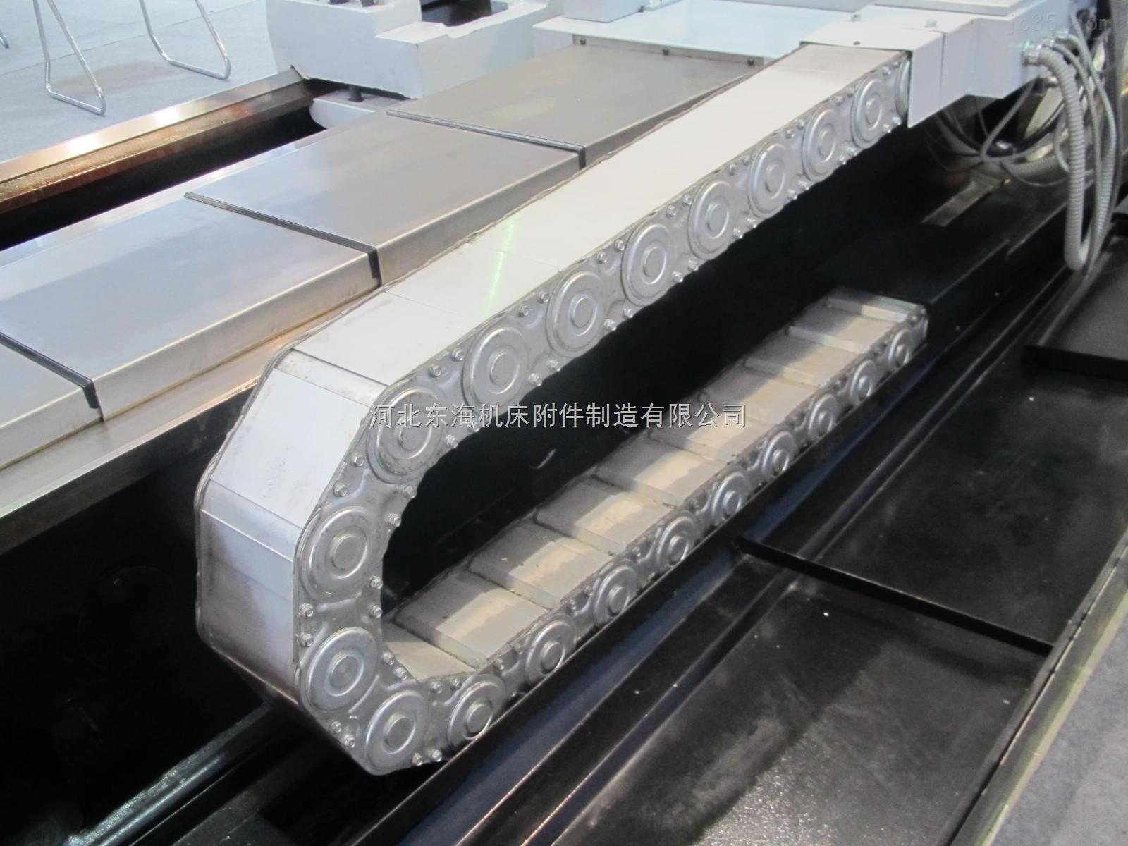 数控机床传动电缆钢制拖链