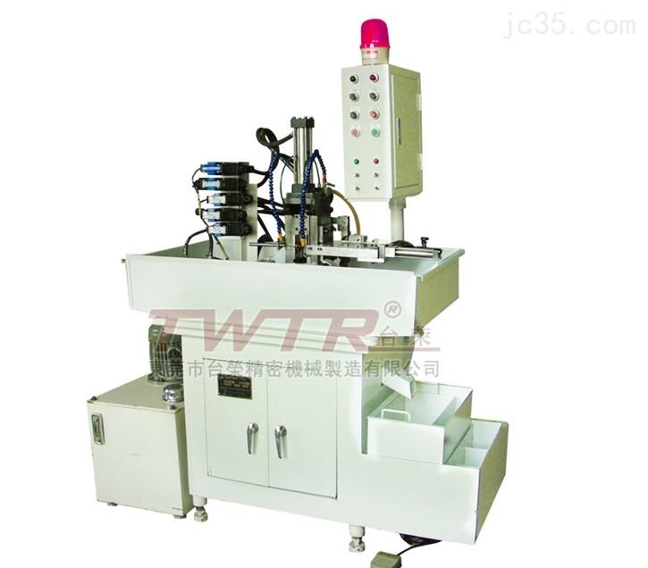全自动两轴铣扁机 二次加工铣扁、铣槽、钻孔专用机