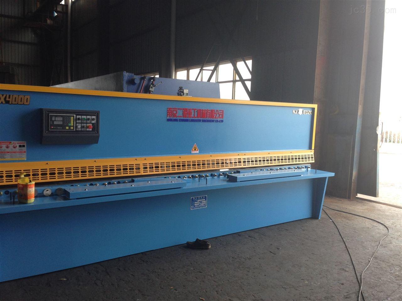 QC12Y系列液压摆式数控剪板机
