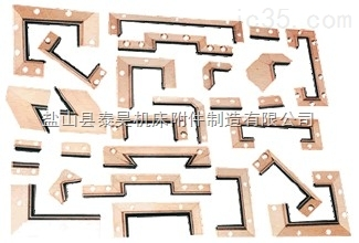 河北沧州盐山供应燕尾刮屑板 铝合金刮尘板 刮削板导轨刮屑