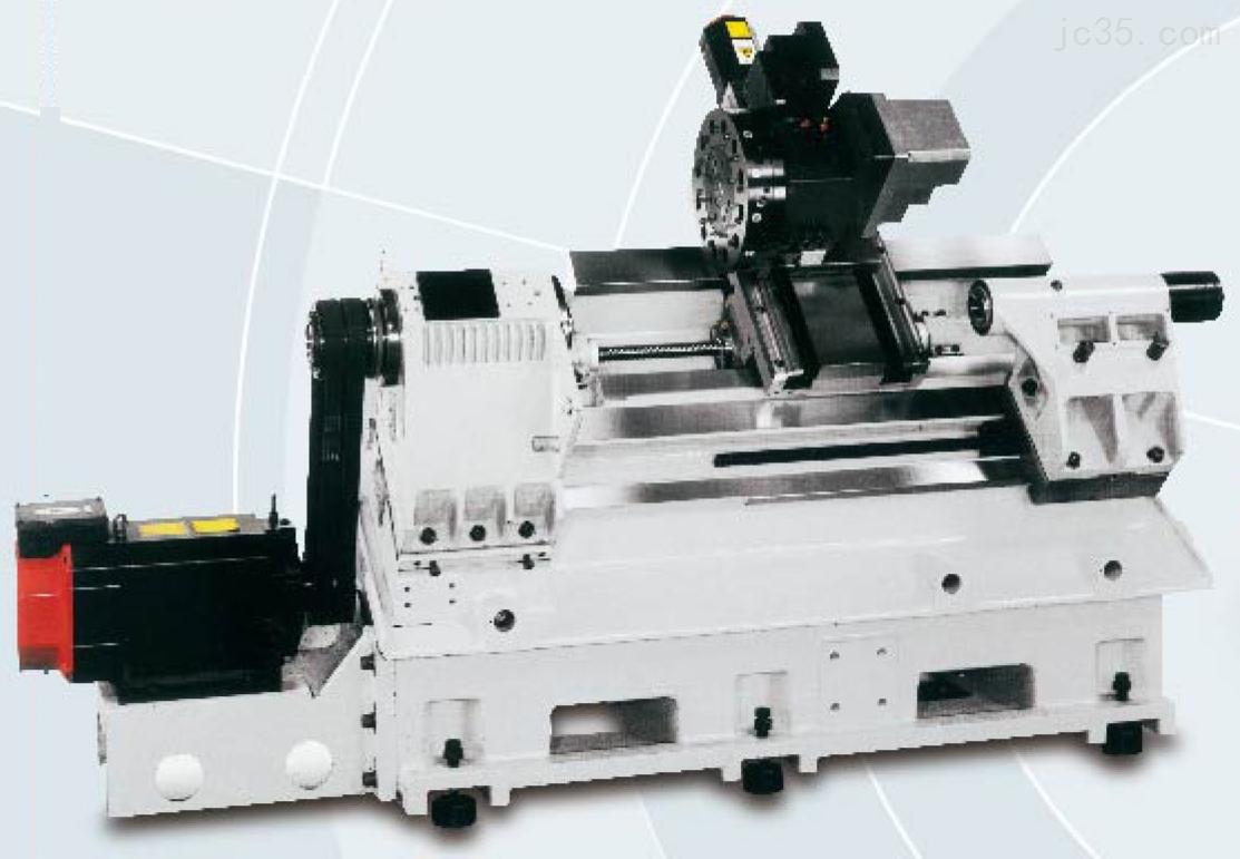 TC-20CNC电脑车床结构介绍: 1、倾斜式床身,底座与轨道一体铸造成形,重心低,旋径大,刚性高,并且有优良的排水及排屑能力。 2、底座,鞍座,滑台,主轴箱等主结构铸件采用高级米汉纳铸铁并经二次退火处理,确保结构高刚性,高稳定性。 3、预拉滚柱螺杆有效消除背隙与热伸长。 TC-20CNC电脑车床精心的产品设计: 1、严谨的专业手工铲花工艺,提供主结构体组合所需的高精度与稳定性。 2、搭配Z子型油沟,提供zui佳的润滑含油滑动面,确保精度的稳定性。 3、X/Y轴方形硬轨结构,各滑动面贴覆Turcite B