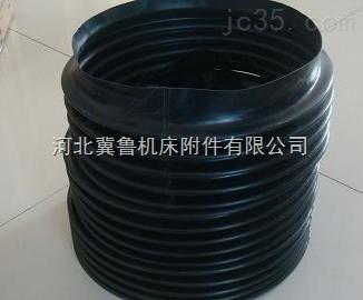 橡胶布防变形圆形伸缩防护罩全国配送