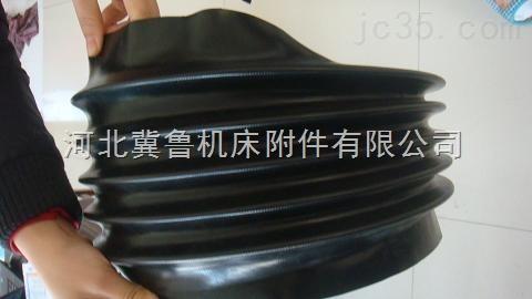 耐磨伸缩式圆筒尼龙布油缸防护罩