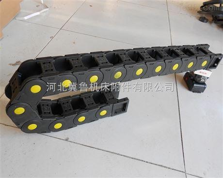 雕刻机小型穿线塑料坦克拖链