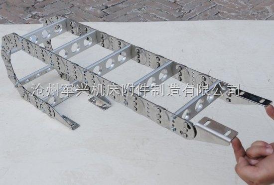 钢制铁钢铝拖链规格