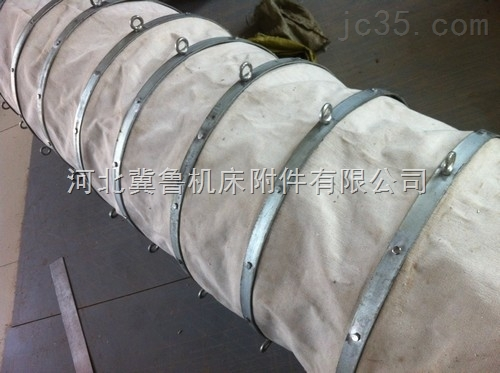 筒子式散装机下料口输送水泥帆布布袋