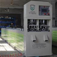 佛山不锈钢方管货架冲孔机展示架自动打孔机