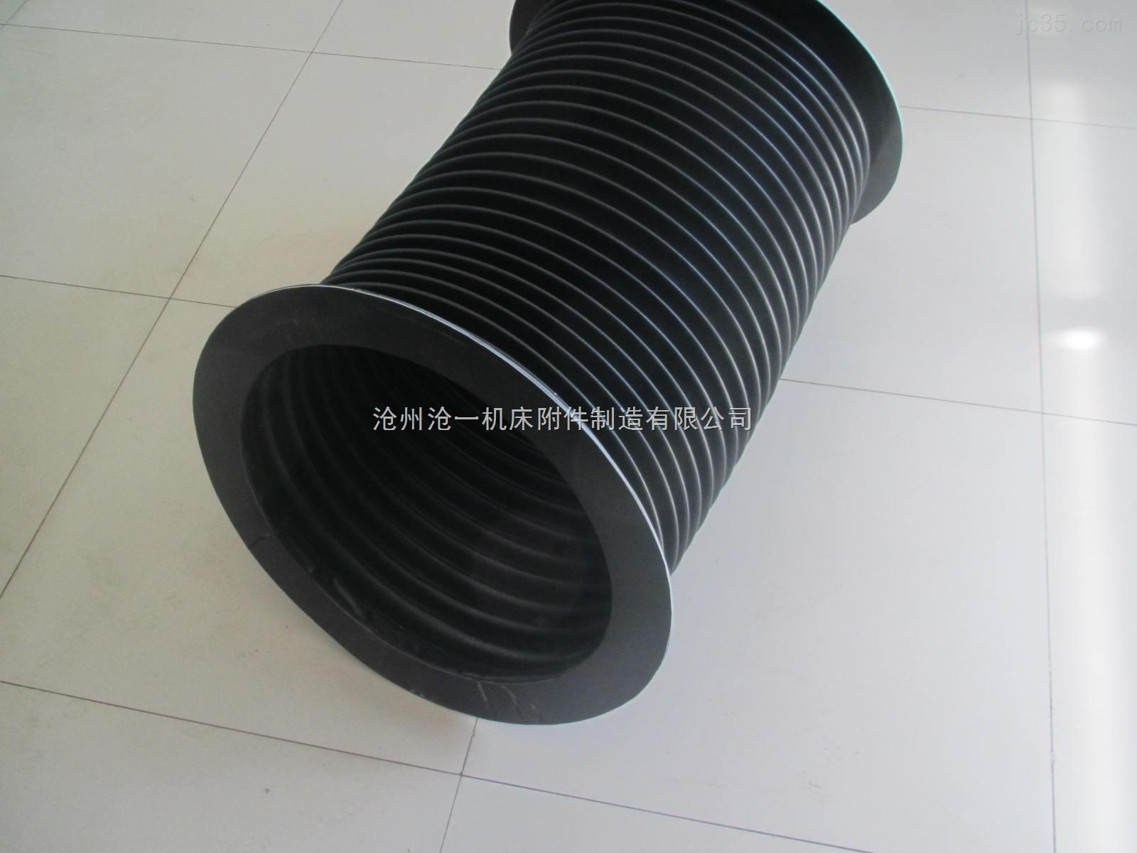 橡胶布油缸防尘保护套