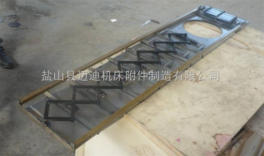 不锈钢板质材料五轴联动机床防护罩