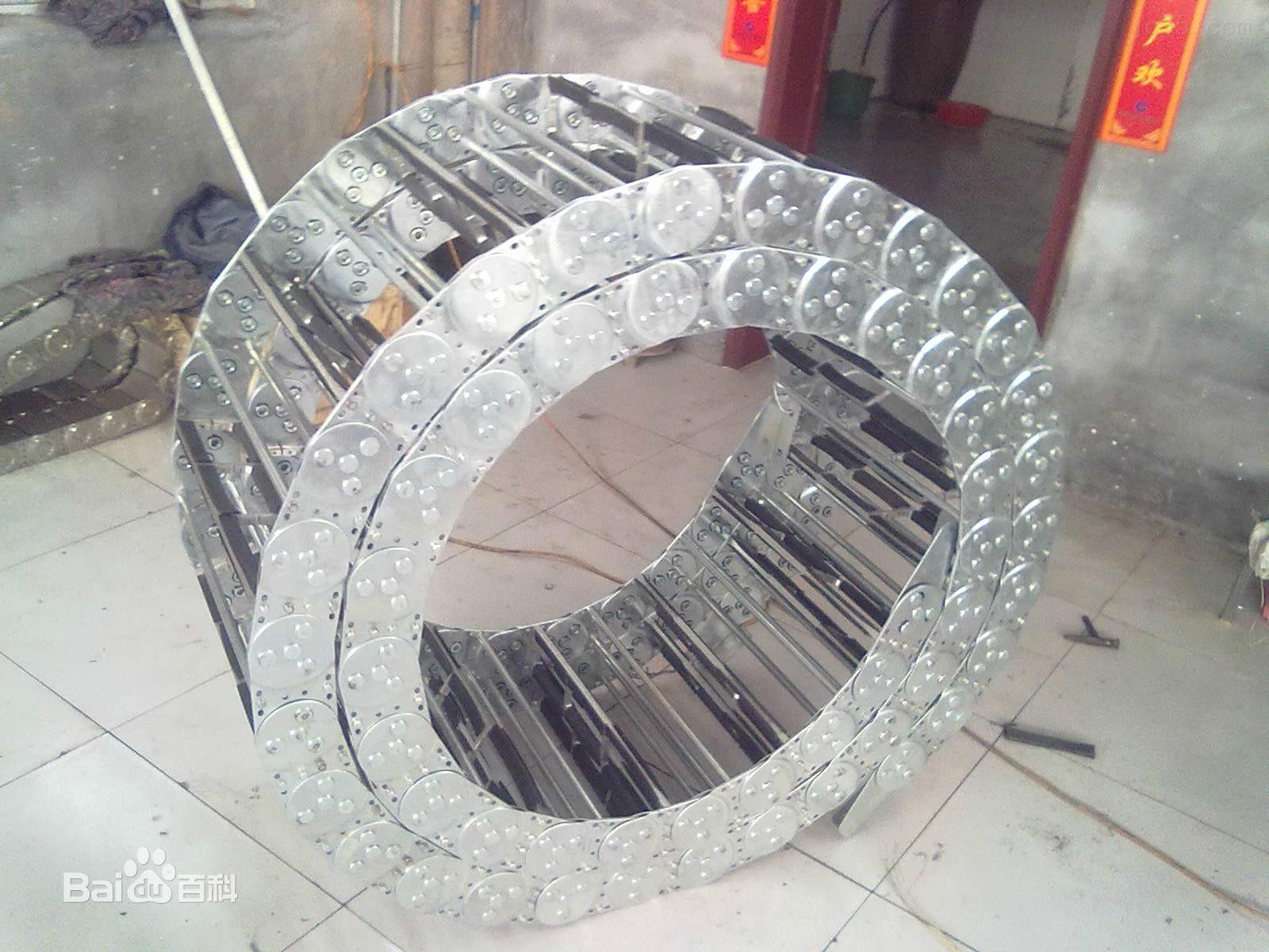 模具设备穿线钢制拖链