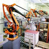 重庆啤酒饮料码垛机器人生产线集成改造厂家,四川化肥饲料码垛机械手