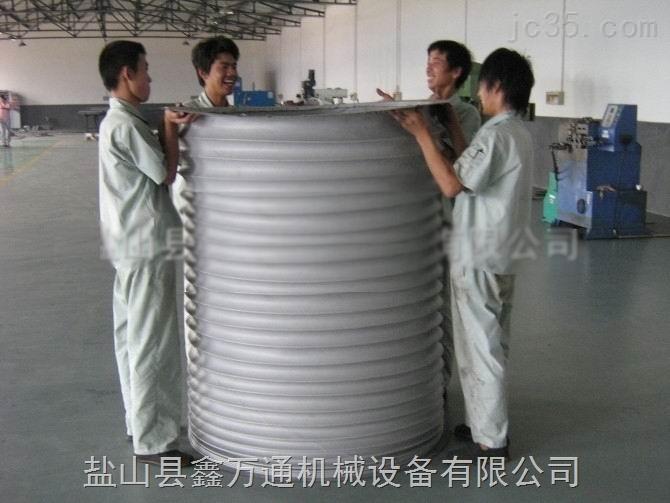 XWT-阻燃油缸伸缩保护套 圆形、多边形护罩 光杠防尘罩 耐高温缝式防护罩