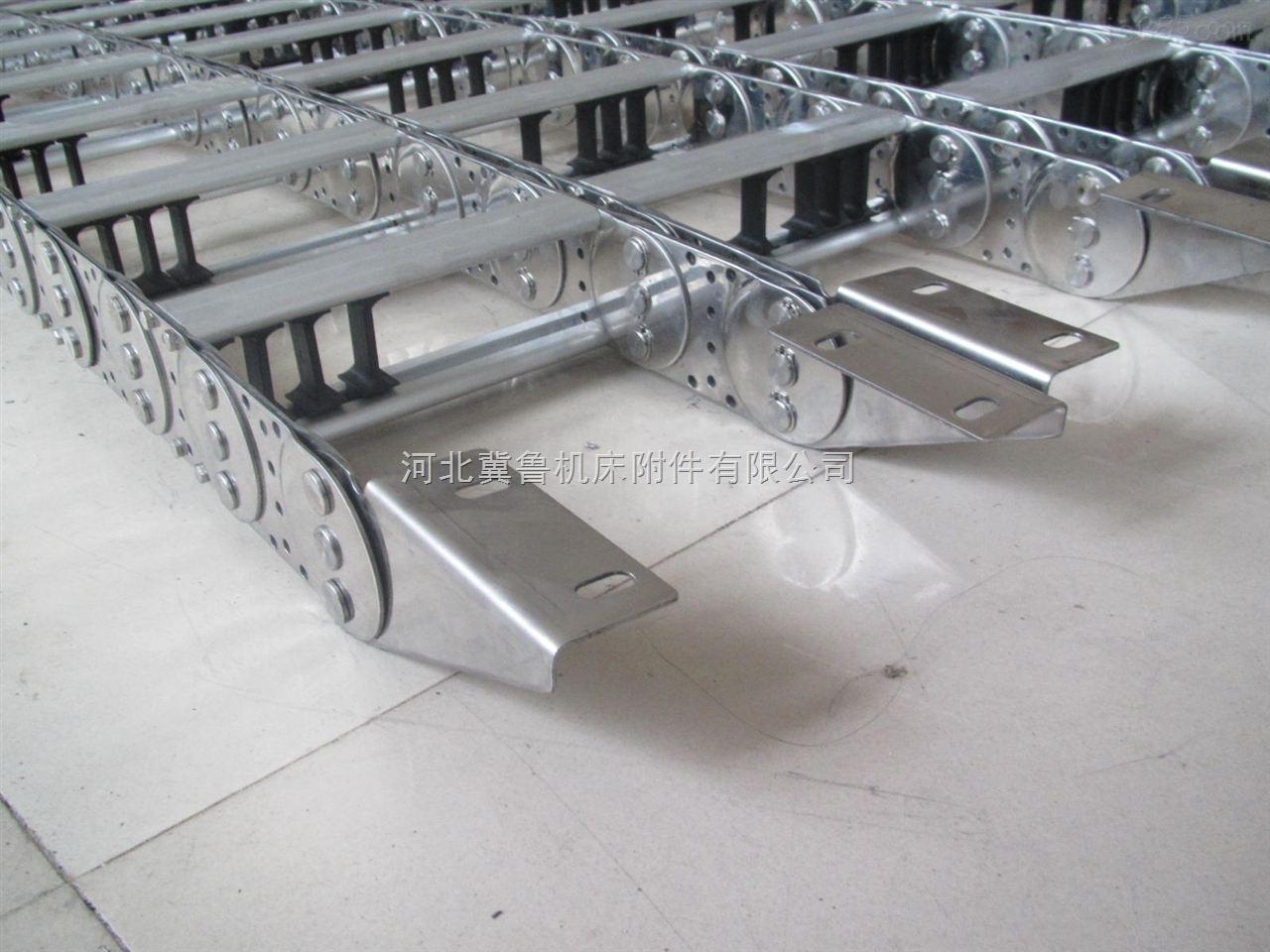 渗碳式镀锌桥式电缆不锈钢拖链新品上架