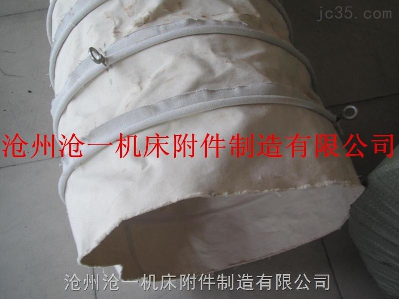 吊环式密封耐磨帆布除尘布袋