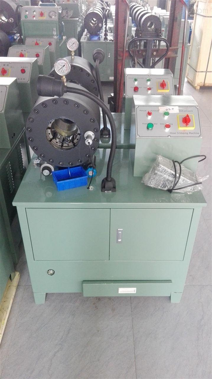 wz-120型全自动胶管缩管机