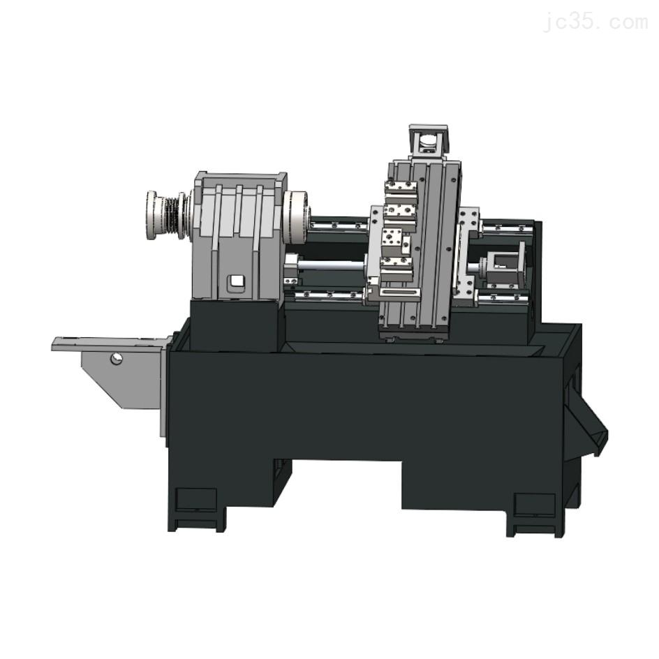 H360连体斜床身数控机床加工厂