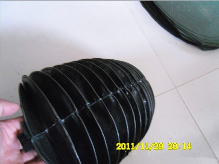拉链式气缸波纹伸缩罩