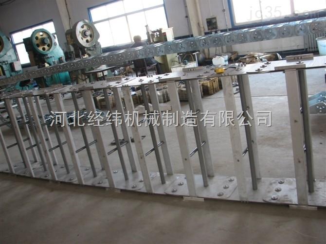 大型长距离耐磨机械电缆保护钢制拖链