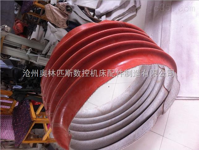 焊接设备吸尘通风软连接,防火阻燃耐负压