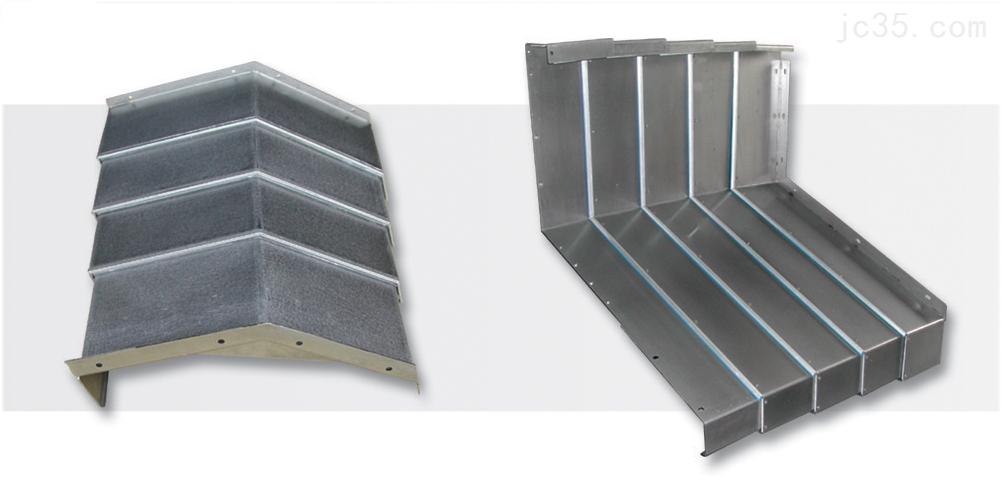 切割机伸缩钢板防护罩