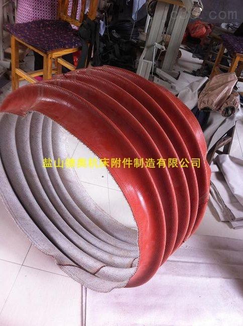 苏州红色硅胶风机软连接厂家