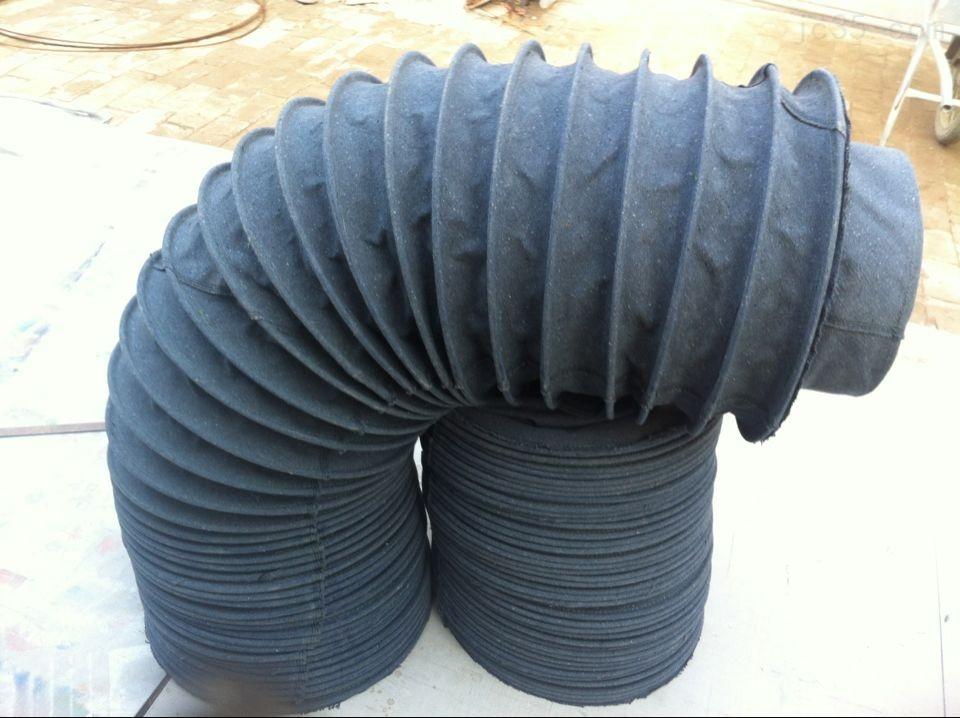 帆布软连接帆布膨胀节散装机伸缩软管