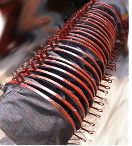 环保机械吊环式散装机用伸缩布袋