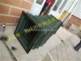 绿色帆布伸缩短管专业生产及批发