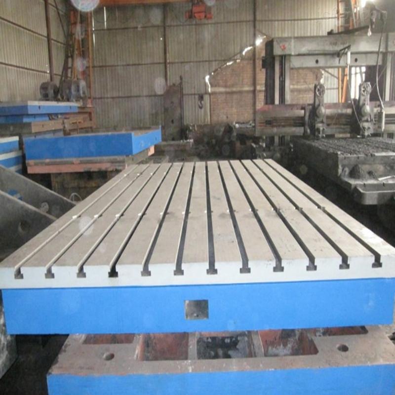 铸铁平台_德阳T型槽平台厂家_测量铸铁平台