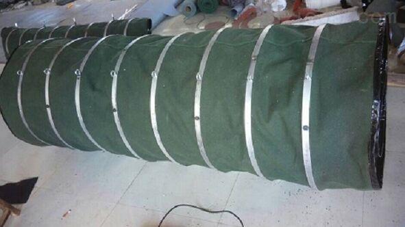 水泥伸缩袋水泥罐车专用水泥伸缩布袋