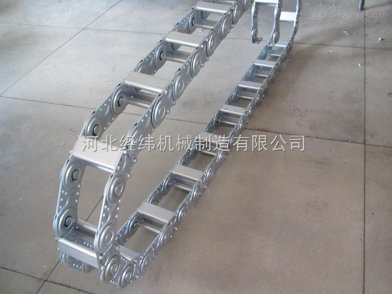 油管钢制拖链 ,大型输送电缆穿线钢铝拖链
