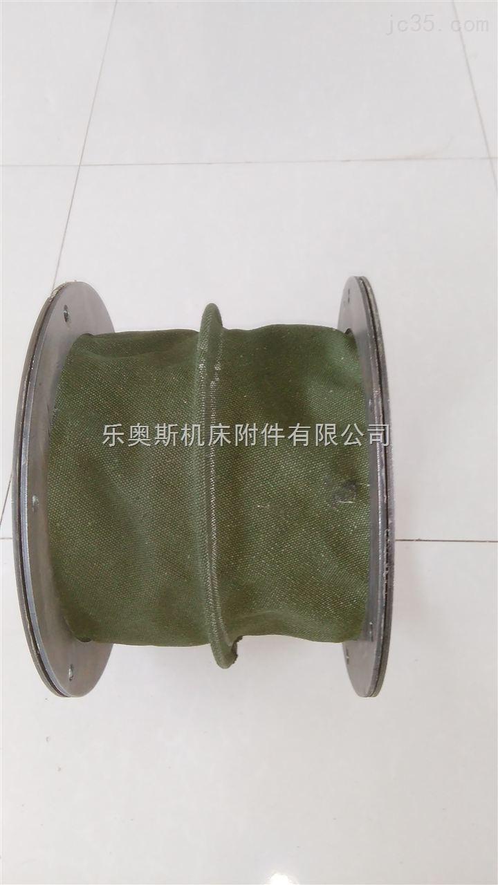圆形帆布耐高温丝杠保护套