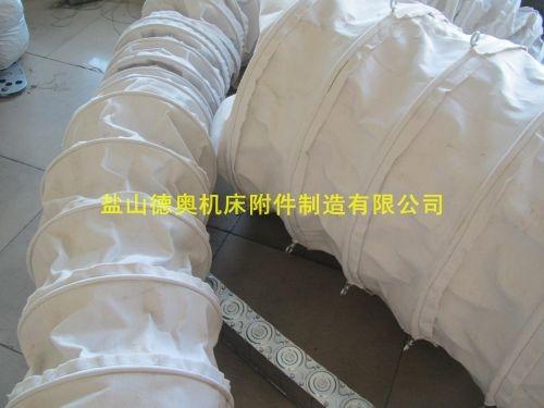 温州订制300*900水泥厂吊环式除尘输送帆布袋厂家