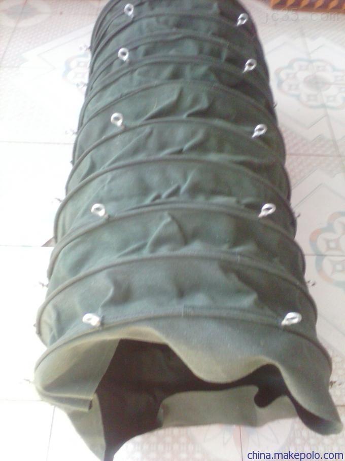 供应安装便捷型散装机伸缩布袋、水泥散装袋