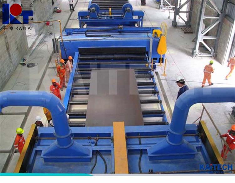 供应山东开泰集团Q69系列钢板预处理、喷涂生产线