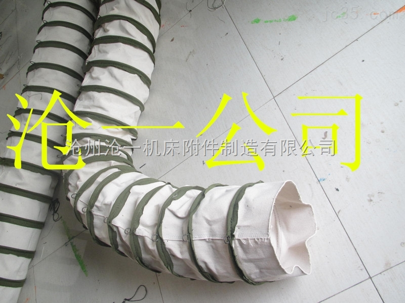 干灰散装机除尘伸缩帆布伸缩袋制造商
