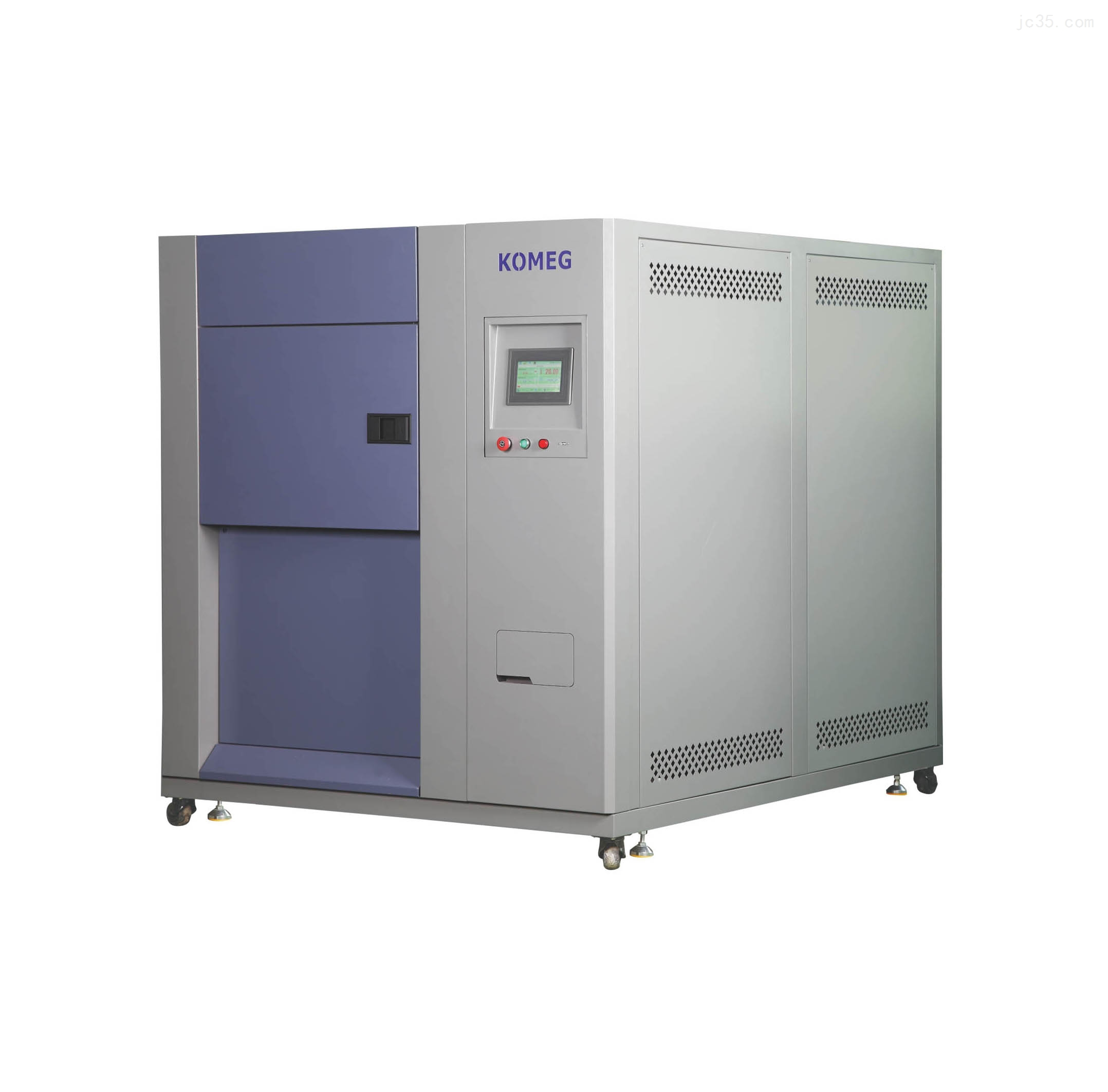 不锈钢板带液晶触摸显示屏-65℃~+150℃三槽式冷热冲击箱