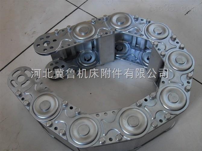 桥式不锈钢穿线钢铝拖链/耐电压钢铝拖链