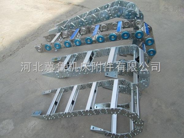 tl95/115*90自动化机械耐冲击穿线钢铝拖链
