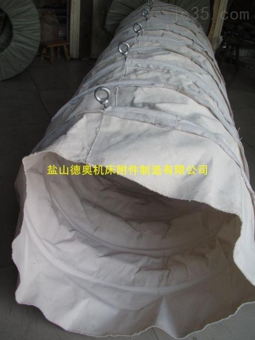 厂家订制粮食输送帆布软接头